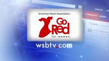 American Heart Association TV Spot, 'ABC 2 Atlanta: Go Red: Focus On Your Health' - Thumbnail 8