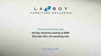 La-Z-Boy Presidents Day Sale TV Spot, 'Special Piece: 30% Off' - Thumbnail 7