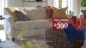 La-Z-Boy Presidents Day Sale TV Spot, 'Special Piece: 30% Off' - Thumbnail 4