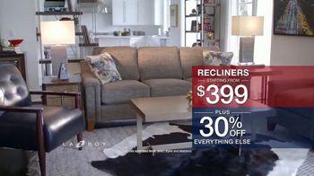 La-Z-Boy Presidents Day Sale TV Spot, 'Special Piece: 30% Off' - Thumbnail 5