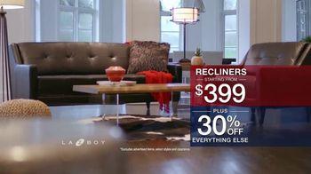 La-Z-Boy Presidents Day Sale TV Spot, 'Special Piece: 30% Off' - Thumbnail 6