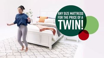 Ashley HomeStore Black Friday Mattress Sale TV Spot, 'Any Size for a Twin'