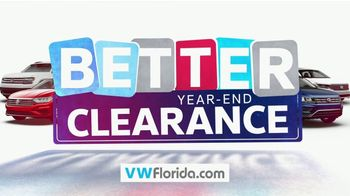 Volkswagen Sign Then Drive Event TV Spot, 'Better Year-End Clearance' [T2] - Thumbnail 1
