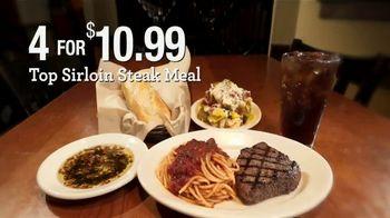 Johnny Carino's Italian Top Sirloin Steak Meal TV Spot, 'Thanksgiving Day' - Thumbnail 7