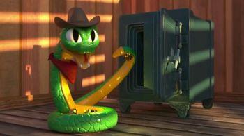 Rattlesnake Jake and Johnny the Skull TV Spot, 'Go for the Gold'