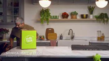HelloFresh Black Friday Sale TV Spot, 'Monica, Matt and Olive' - Thumbnail 2