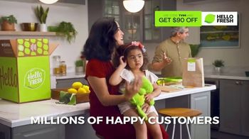 HelloFresh Black Friday Sale TV Spot, 'Monica, Matt and Olive'