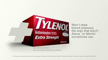 Tylenol Extra Strength TV Spot, 'Joint Pain and High Blood Pressure: Yoga Ball'