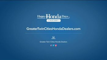 Happy Honda Days Sales Event TV Spot, 'Starts Early: Civic' [T2] - Thumbnail 7