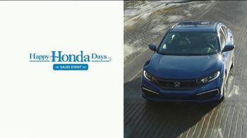 Happy Honda Days Sales Event TV Spot, 'Starts Early: Civic' [T2] - Thumbnail 1