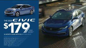 Happy Honda Days Sales Event TV Spot, 'Starts Early: Civic' [T2] - Thumbnail 3
