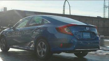 Happy Honda Days Sales Event TV Spot, 'Starts Early: Civic' [T2] - Thumbnail 4