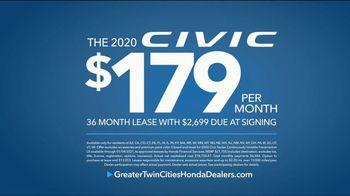 Happy Honda Days Sales Event TV Spot, 'Starts Early: Civic' [T2] - Thumbnail 6