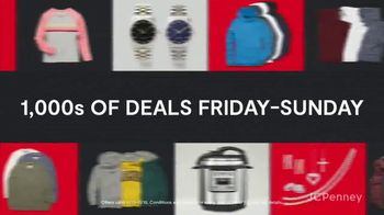 JCPenney TGI Black Friday TV Spot, 'Diamonds and Sweaters' - Thumbnail 3