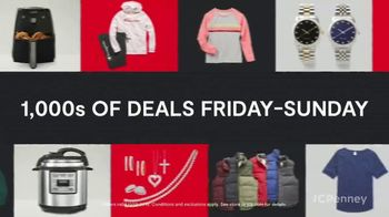 JCPenney TGI Black Friday TV Spot, 'Diamonds and Sweaters'