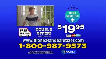 Bionic Hand Sanitizer TV Spot, 'Keeping Your Hands Clean' - Thumbnail 7