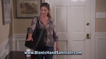 Bionic Hand Sanitizer TV Spot, 'Keeping Your Hands Clean' - Thumbnail 5