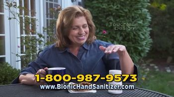 Bionic Hand Sanitizer TV Spot, 'Keeping Your Hands Clean' - Thumbnail 6