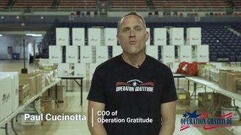 Operation Gratitude TV Spot, 'Care Packages' - Thumbnail 1