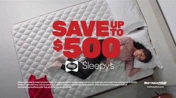 Mattress Firm Black Friday Sale TV Spot, 'Top Rated Brands: King for Queen'