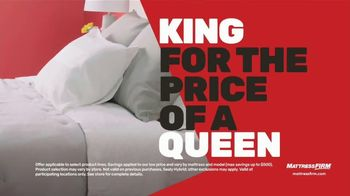 Mattress Firm Black Friday Sale TV Spot, 'Top Rated Brands: King for Queen' - Thumbnail 4