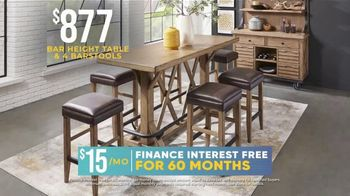 Rooms to Go Holiday Sale TV Spot, '$877 Dining Sets' - Thumbnail 3
