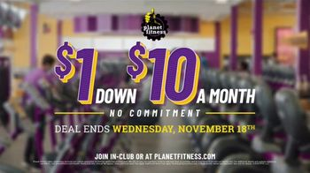 Planet Fitness TV Spot, 'Don't Let Stress Weigh You Down: $1 Down, $10 a Month' - Thumbnail 8