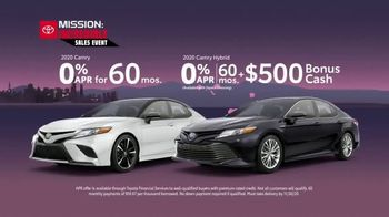 Toyota Mission: Incredible Sales Event TV Spot, 'Yours for the Taking' [T2] - Thumbnail 6