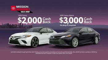 Toyota Mission: Incredible Sales Event TV Spot, 'Yours for the Taking' [T2] - Thumbnail 7