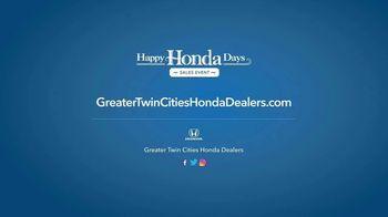 Happy Honda Days Sales Event TV Spot, 'Starts Now: CR-V' [T2] - Thumbnail 7