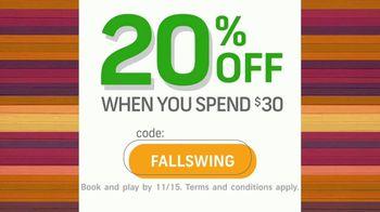 GolfNow.com TV Spot, 'Tee up Savings: 20% Off' - Thumbnail 3