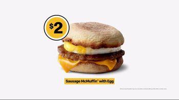 McDonald's $1 $2 $3 Dollar Menu TV Spot, 'Breakfast Stampede: Sausage McMuffin With Egg' - Thumbnail 9