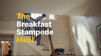 McDonald's $1 $2 $3 Dollar Menu TV Spot, 'Breakfast Stampede: Sausage McMuffin With Egg' - Thumbnail 5