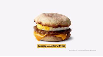 McDonald's $1 $2 $3 Dollar Menu TV Spot, 'Breakfast Stampede: Sausage McMuffin With Egg' - Thumbnail 8