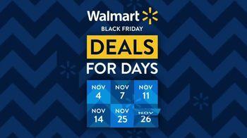 Walmart Black Friday TV Spot, 'Deals for Days: Shark Rocket Pro Cordless Stick Vacuum' - Thumbnail 1