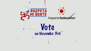 Hispanic Federation TV Spot, 'Your Vote Is Your Voice' - Thumbnail 9
