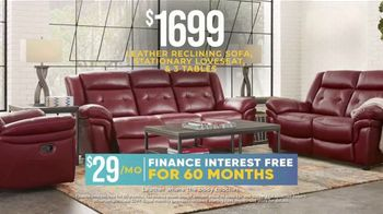 Rooms to Go Holiday Sale TV Spot, '$795 Leather Sofa or $1,699 Living Room Set' - Thumbnail 6