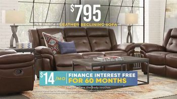 Rooms to Go Holiday Sale TV Spot, '$795 Leather Sofa or $1,699 Living Room Set'