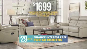 Rooms to Go Holiday Sale TV Spot, '$795 Leather Sofa or $1,699 Living Room Set' - Thumbnail 5