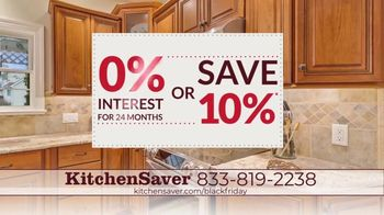 Kitchen Saver Black Friday TV Spot, 'Gift of a New Kitchen: Interest Savings or 10% Off' - Thumbnail 3