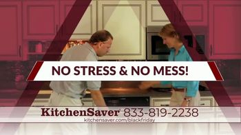 Kitchen Saver Black Friday TV Spot, 'Gift of a New Kitchen: Interest Savings or 10% Off' - Thumbnail 4