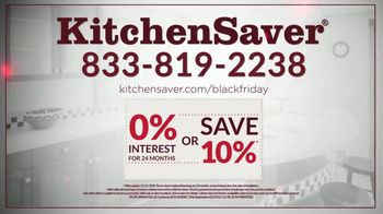 Kitchen Saver Black Friday TV Spot, 'Gift of a New Kitchen: Interest Savings or 10% Off' - Thumbnail 7