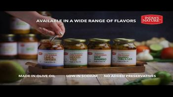 India's Nature Low Sodium Pickles in Olive Oil TV Spot, 'Mouthwatering'