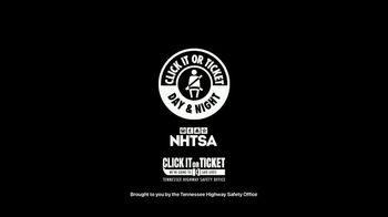 NHTSA TV Spot, 'Click It or Ticket' - Thumbnail 10