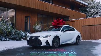 Lexus December to Remember Sales Event TV Spot, \'Driveway Moments: Birthday\' [T1]