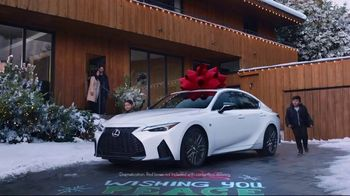 Lexus December to Remember Sales Event TV Spot, 'Driveway Moments: Birthday' [T1] - Thumbnail 7