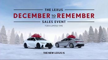 Lexus December to Remember Sales Event TV Spot, 'Driveway Moments: Birthday' [T1] - Thumbnail 9