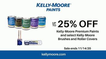 Kelly-Moore Paints TV Spot, 'The Essential Color Set and 25% Off Paints, Brushes and Rollers' - Thumbnail 10