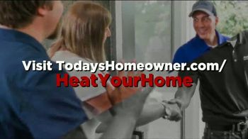 American Standard Heat Your Home Week TV Spot, 'Today's Homeowner: Keep the Cold Outside' - Thumbnail 9