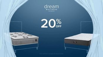 Value City Furniture Early Black Friday Sale TV Spot, 'Dream Mattress Studio: 20% Off' - Thumbnail 3